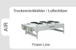 Thermokey - Trockenrückkühler POWER-LINE